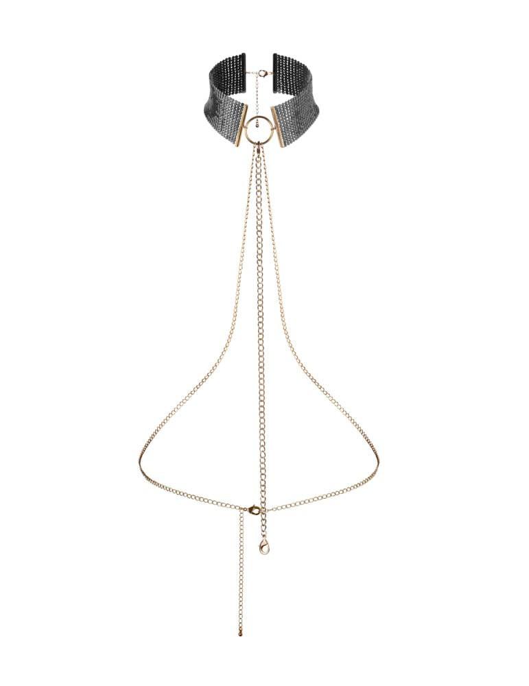 Метална яка със сребърна верижка - Désir Métalique Collar