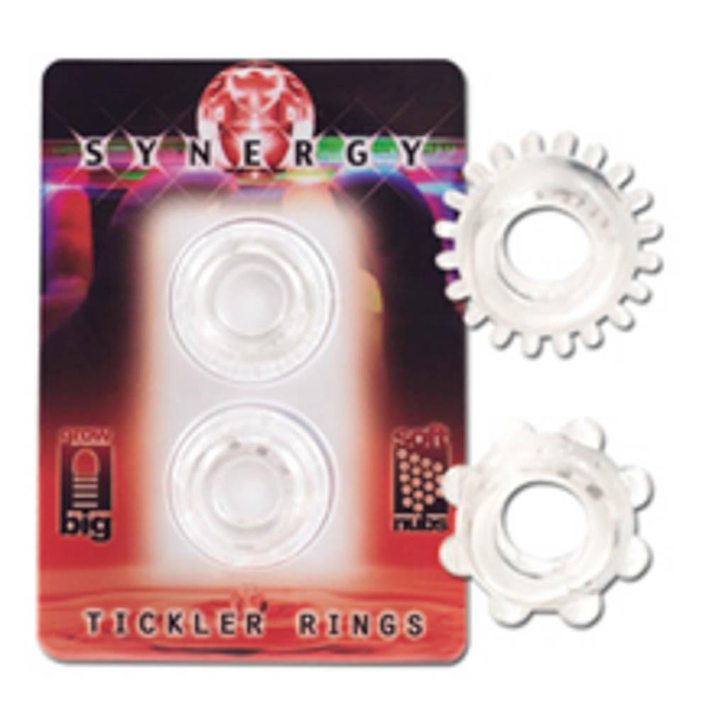 Пенис пръстени - Synergy Tickler Rings Clear