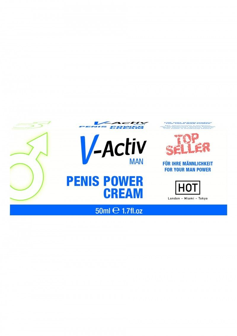Възбуждащ крем за мъже - V-Activ Penis Power Cream 50ml — 2
