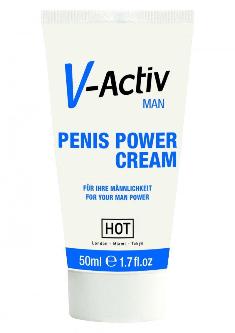 Възбуждащ крем за мъже - V-Activ Penis Power Cream 50ml — 3