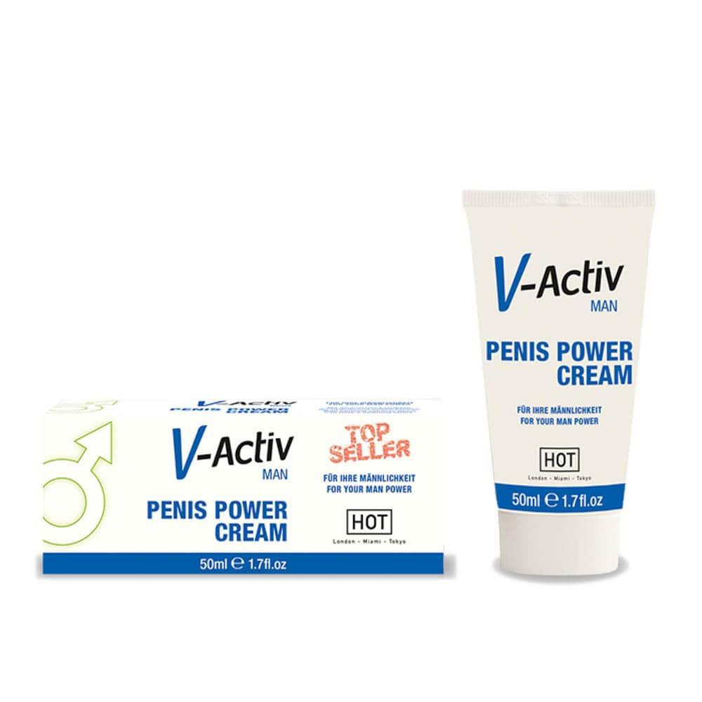 Възбуждащ крем за мъже – V-Activ Penis Power Cream 50ml
