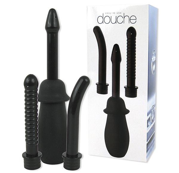 Интимен душ за вагинална и анална употреба – Douche Unisex Black
