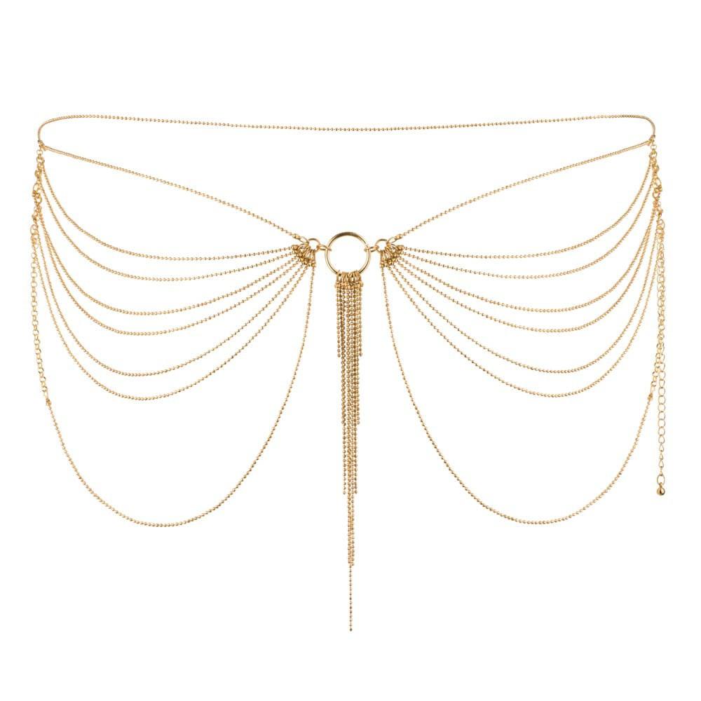 Секси аксесоар за ханш или гърди, бъдете неотразима – Magnifique Waist Jewelry Gold
