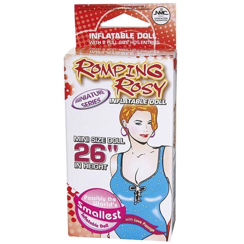 Мини секс кукла с два любовни отвора, височина 66см. – Romping Rosy