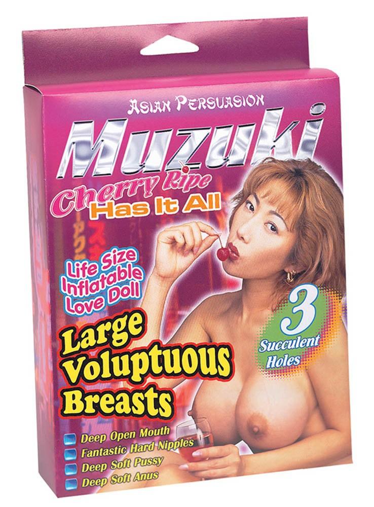 Секс кукла, азиатска наслада с три отвора – Muzuki Cherry Ripebig Boobie Asian Girl