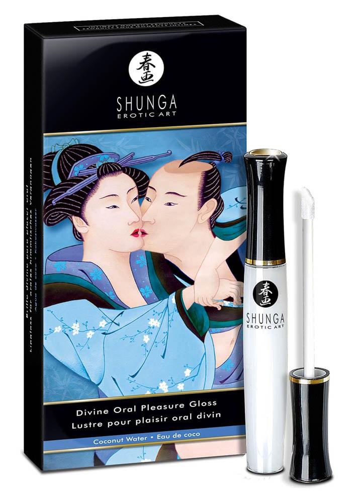 Гланц за орално удоволствие, кокос – Shunga Coconut Oral Pleasure Gloss 10ml