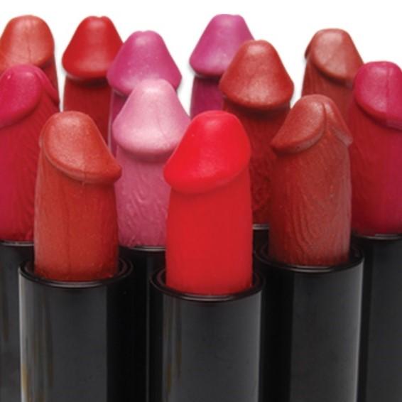 Комплект от 12 червила, диамантена мечта – Pecker Lipstick Display