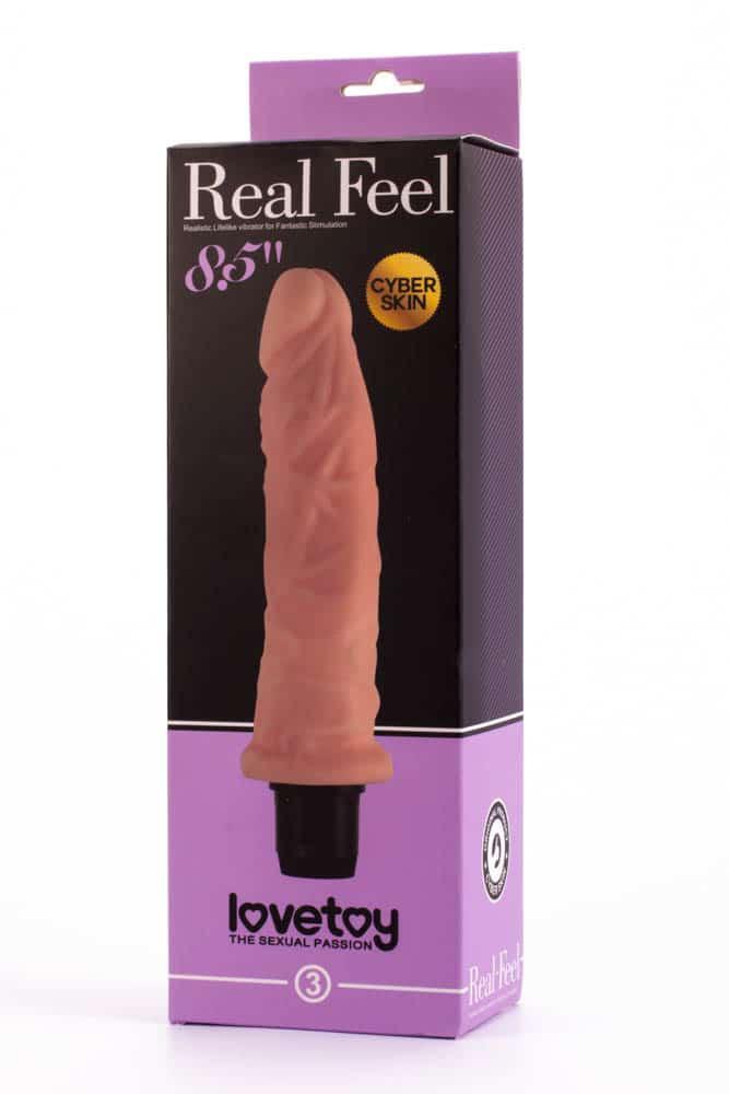 8см. - Real Feel Cyberskin Vibrator 4 — 2