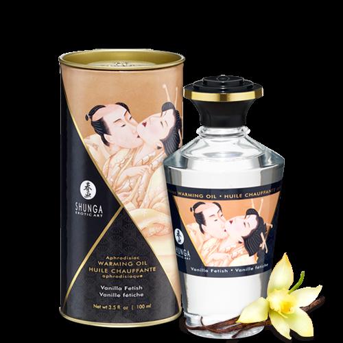 Афродизиак масажно масло със затоплящ ефект