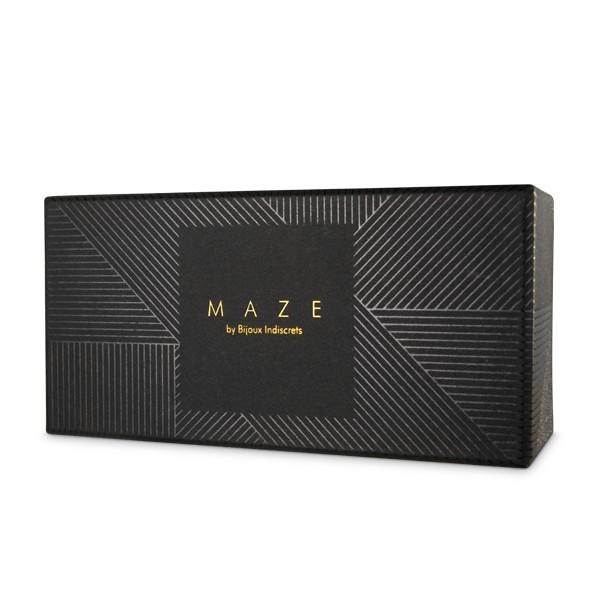 Маншети за глезени и моден аксесоар в кафяво - MAZE Kneecuffs Brown — 4