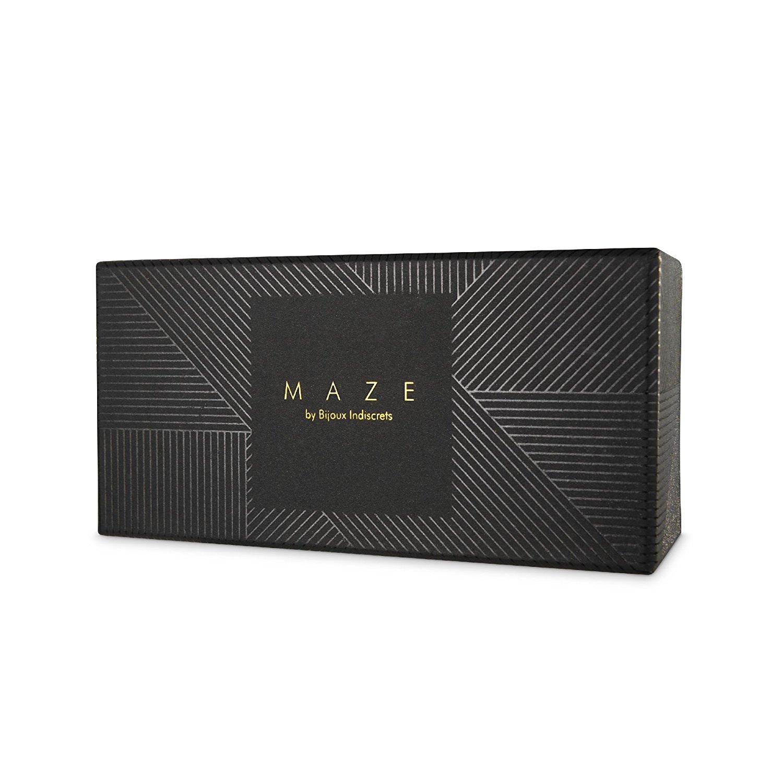 Дизайнерски гривни-белезници в черен цвят - MAZE Thincuffs Black — 7