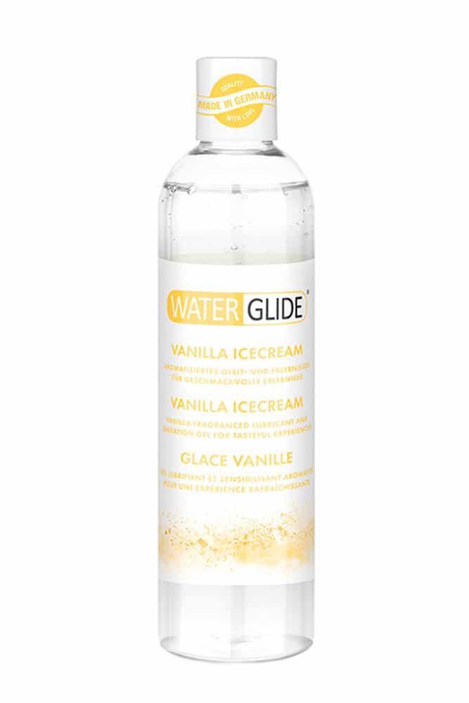 Лубрикант с вкус на сладолед, ванилия – Waterglide Vanilla Icecream 300ml