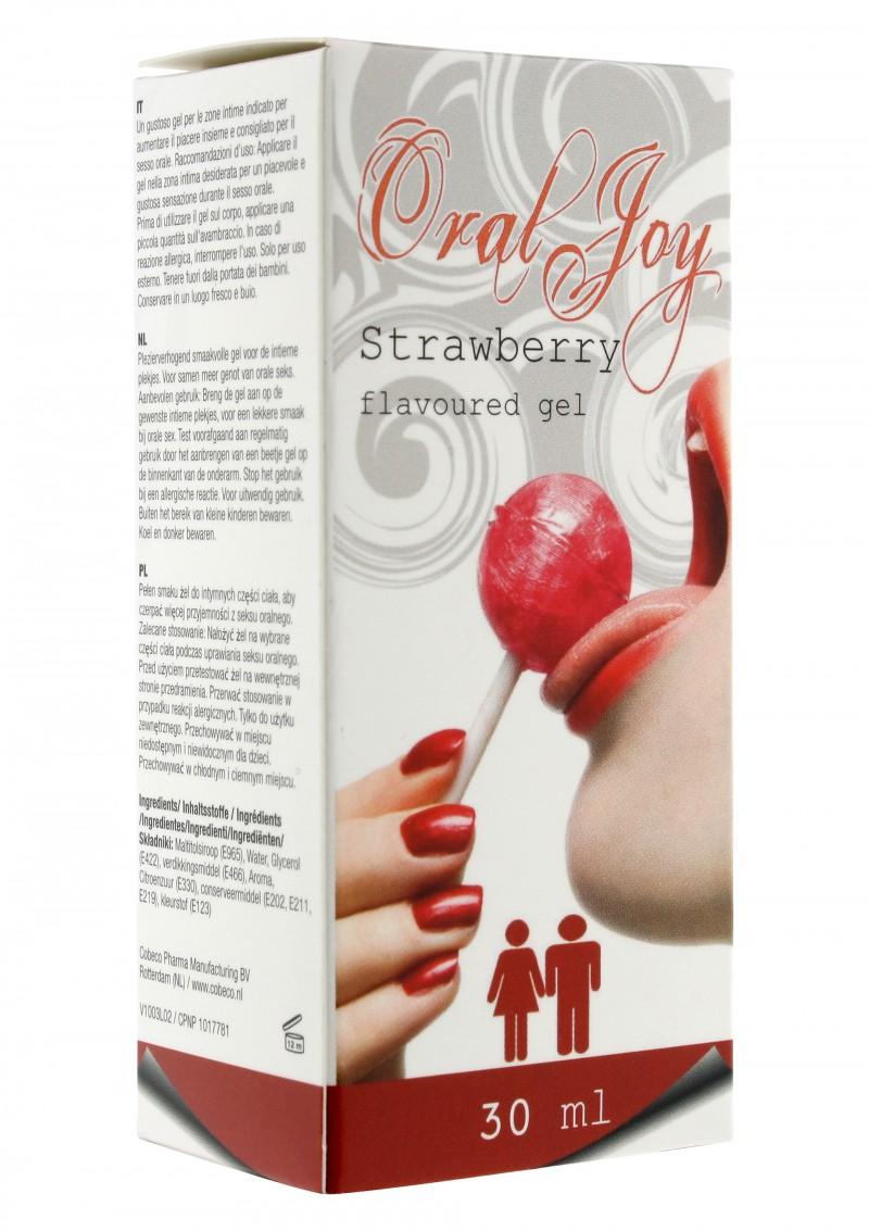 ягода - Oral Joy New Strawberry 30ml. — 2