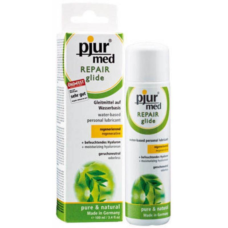 Натурален билков лубрикант с подхранващи свойства - pjur® med REPAIR glide 100ml — 3