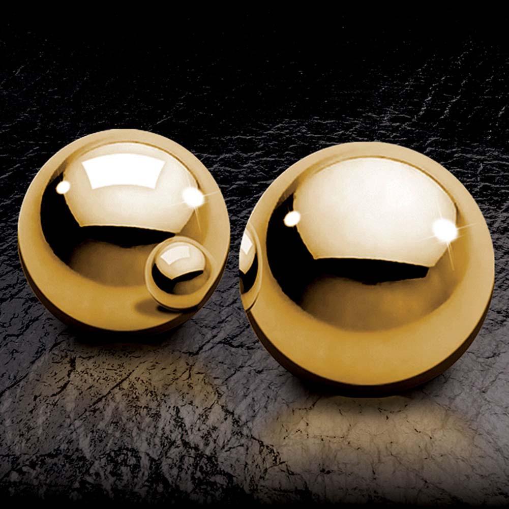 Вагинални топчета, златно съвършенство – Fetish Fantasy, Gold Ben Wa Balls