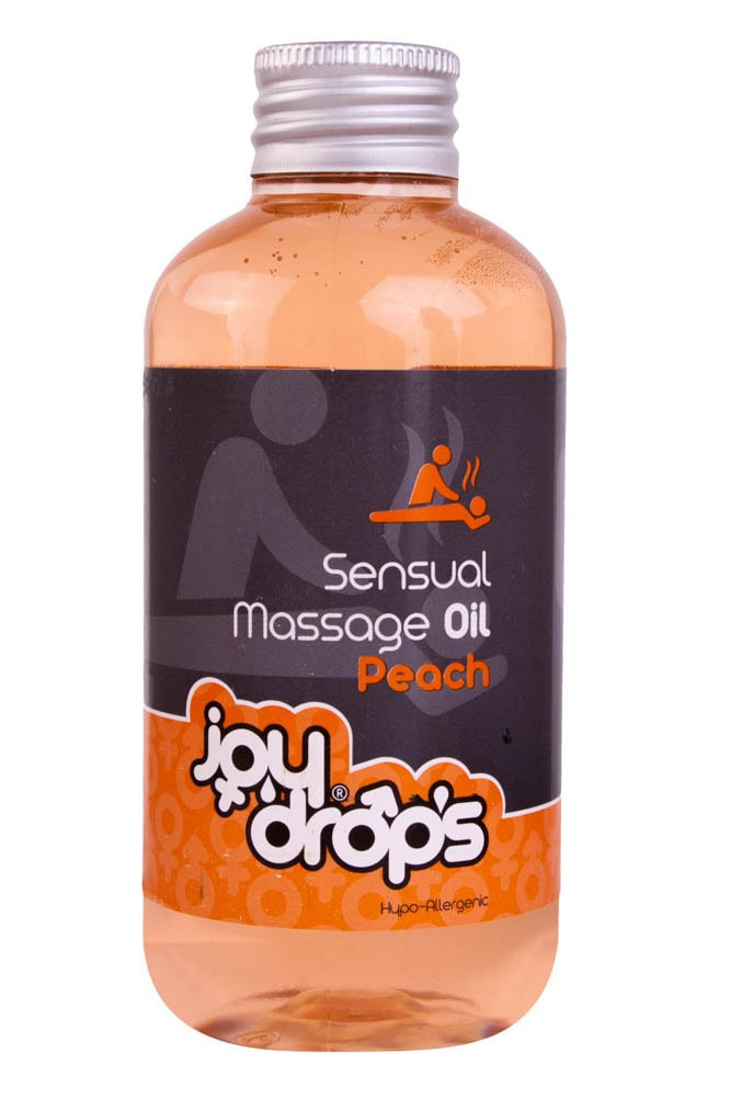 Масажно масло, праскова – Sensual Massage 250ml