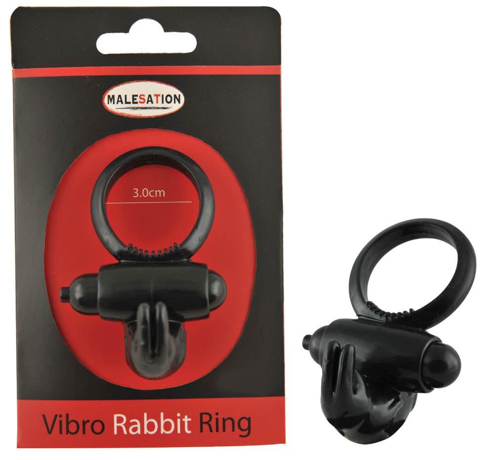Пенис пръстен за двойна наслада – Vibro Rabbit Ring, Malesation