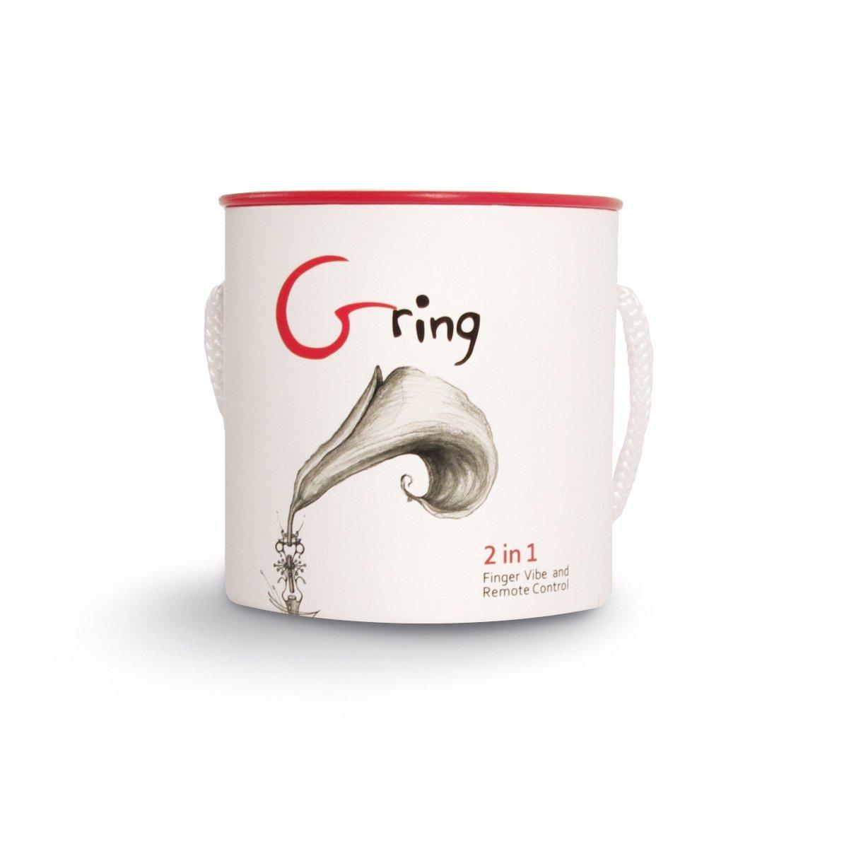 Вибриращ пръстен с много предназначения - Gring Neon Rose — 4