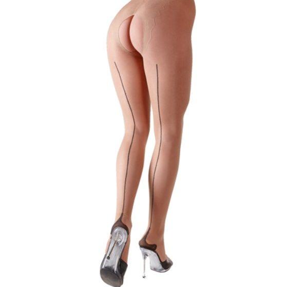 Чорапогащник с отворено дъно – Nude Tights M