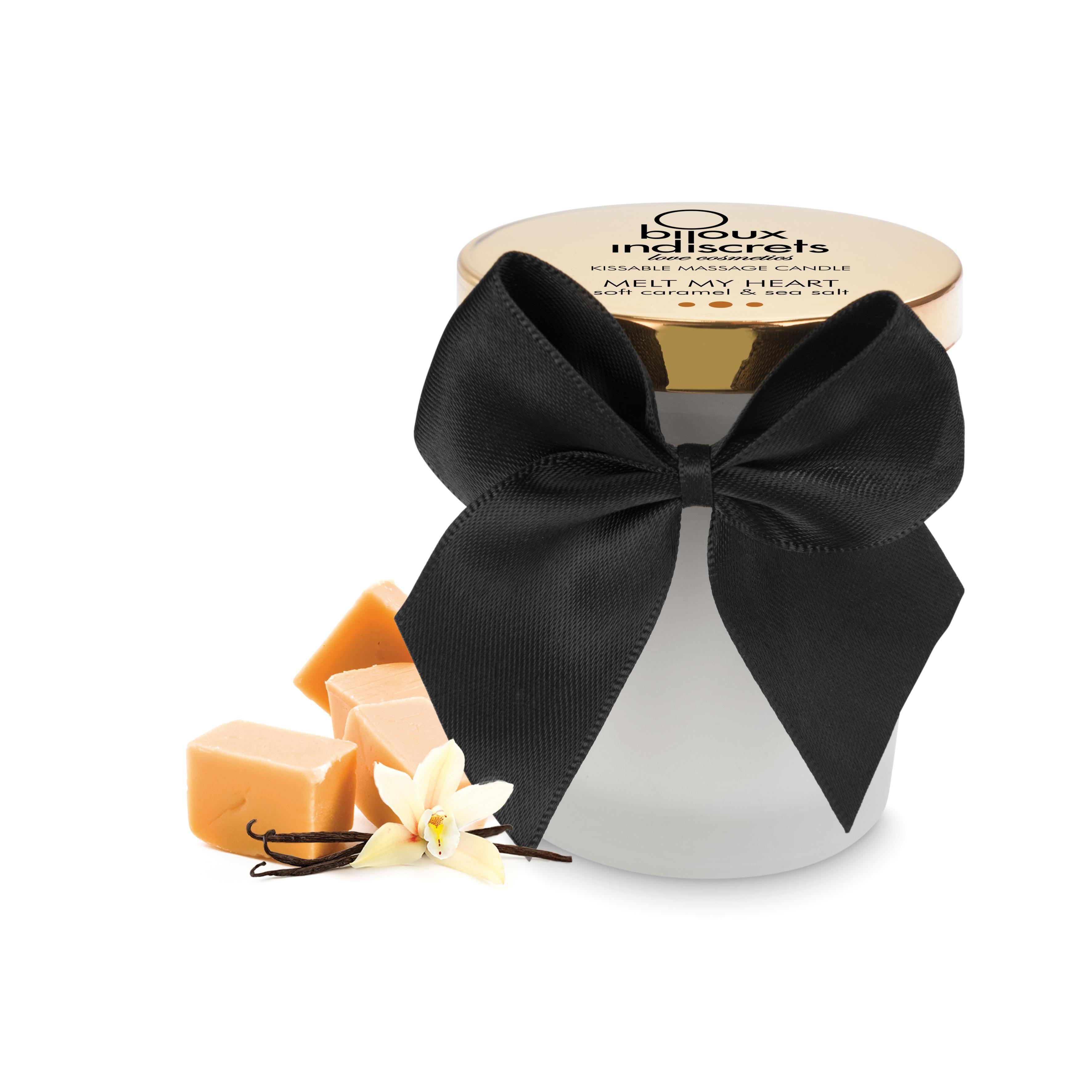 Масажна свещ с вкус на карамел - Melt My Heart
