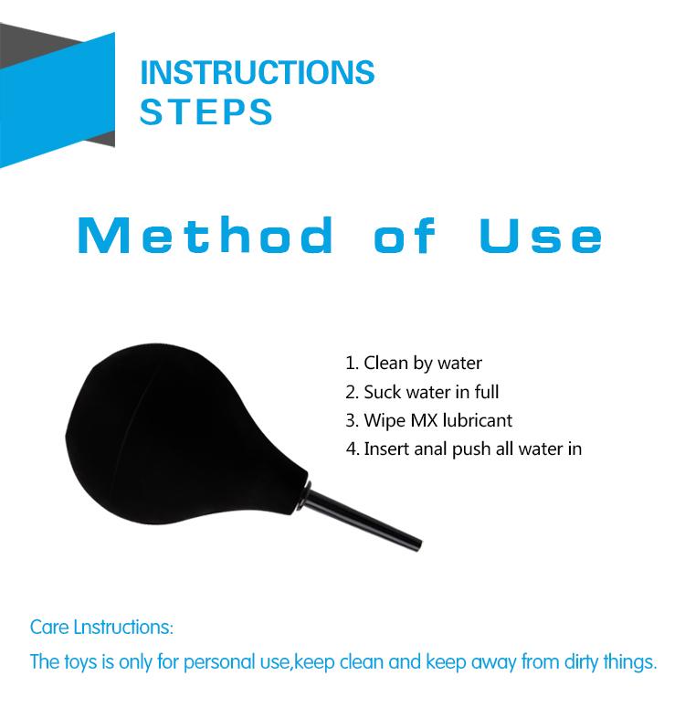 Интимен душ за лесно анално промиване - Easy Clean Enema — 2