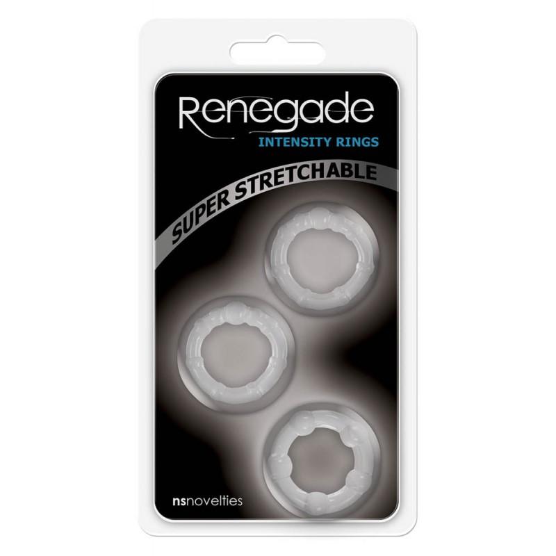 Пенис пръстени за интензивно усещане - Renegade Intensity Rings — 3