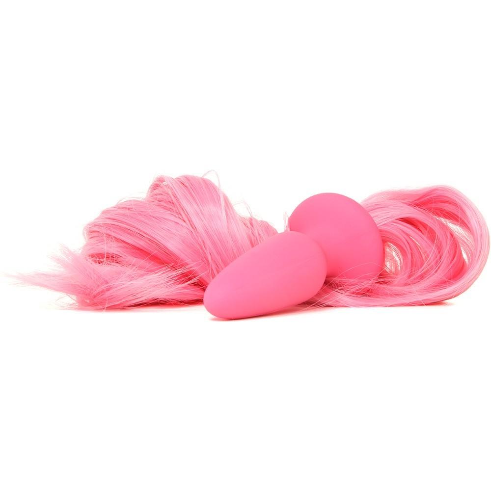 Анален плъг, опашката на еднорога – Unicorn Tails, Pastel Pink