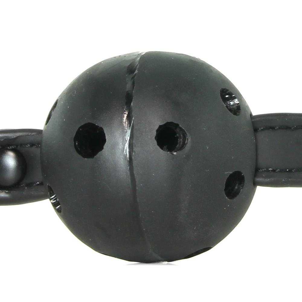 пълна наслада - Renegade Bondage Ball Gag Black — 4