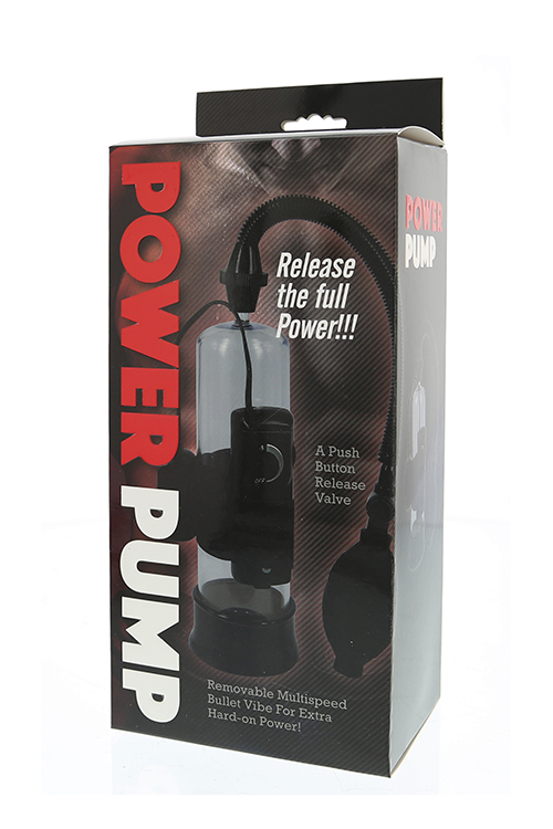 Вакуумна пенис помпа с вибрации – Power Pump