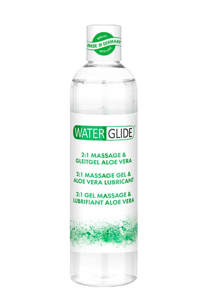 Лубрикант и масажен гел с Алое Вера, 2 в 1- Waterglide Massage & Lubricant Aloe Vera
