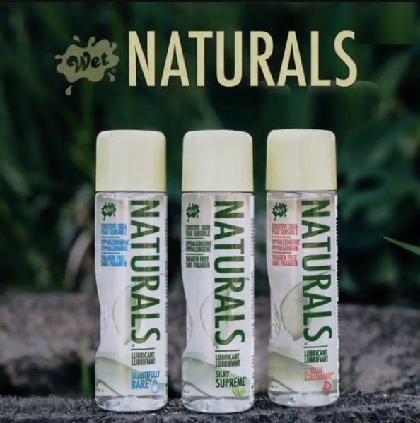 Натурален гел лубрикант за чувствителна кожа - Wet Naturals Beautifully Bare 100ml — 2
