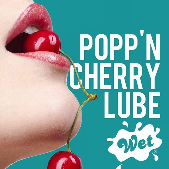 череша - Wet Fun Flavors Popp n Cherry 123ml — 2