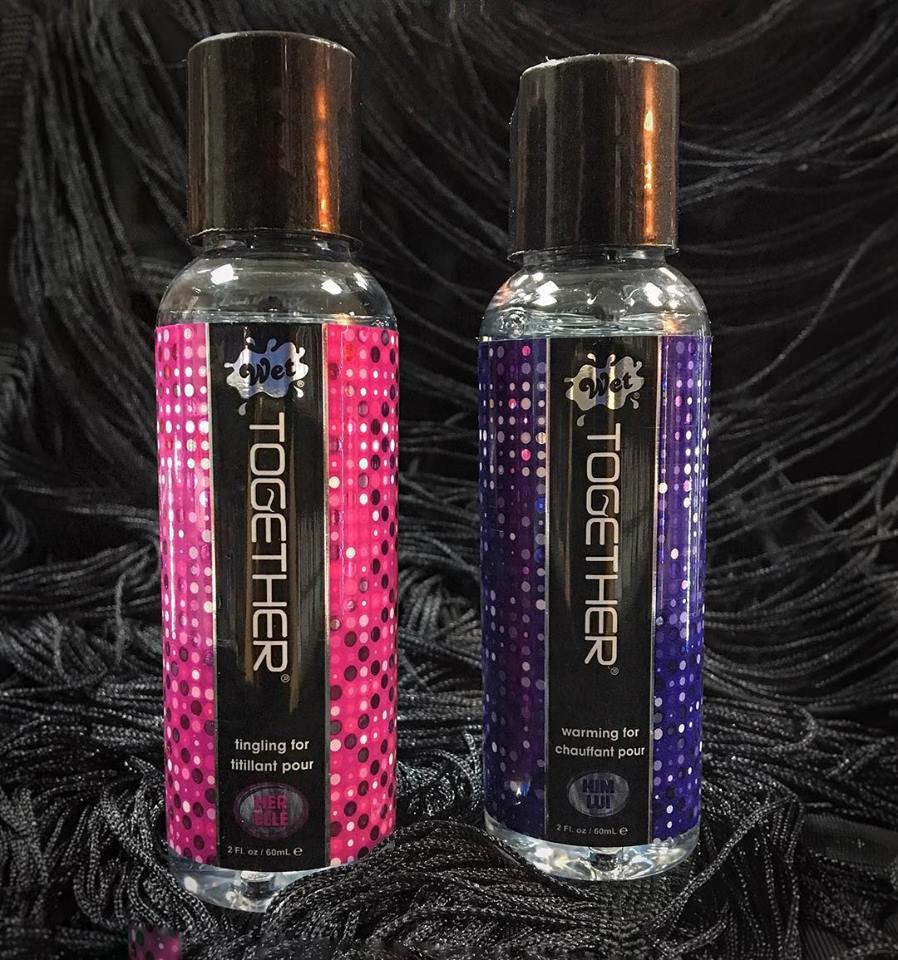 Лубрикант за двойки – WET Together Lubricant for Couples 2x60ml