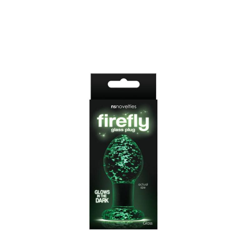 среден размер - Firefly Glass Plug Medium