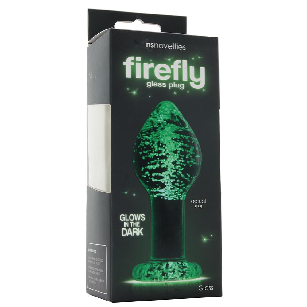 голям размер - Firefly Glass Plug Large — 3