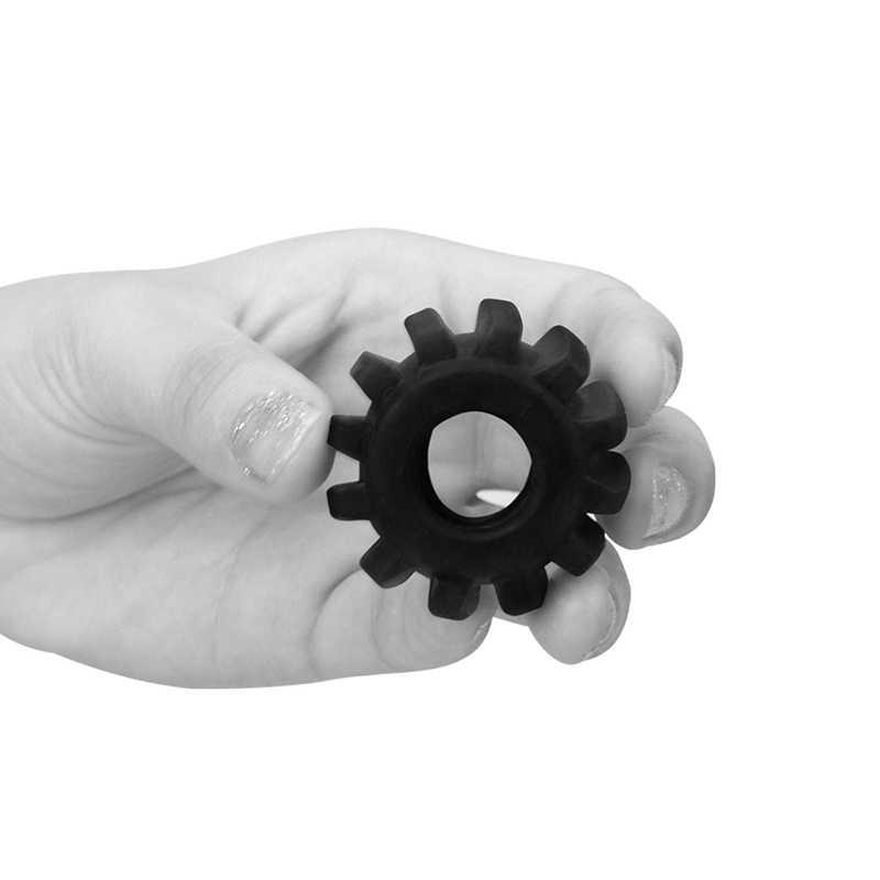 Пенис пръстен за истинска мощ №2 в черен цвят - Power Plus Cockring 2 — 7