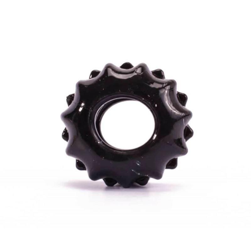 Пенис пръстен за истинска мощ №1 в черен цвят - Power Plus Cockring 1 — 7