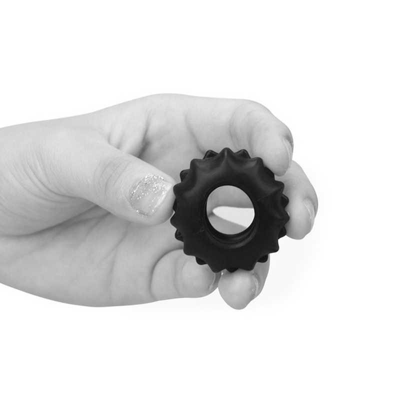 Пенис пръстен за истинска мощ №1 в черен цвят - Power Plus Cockring 1 — 2
