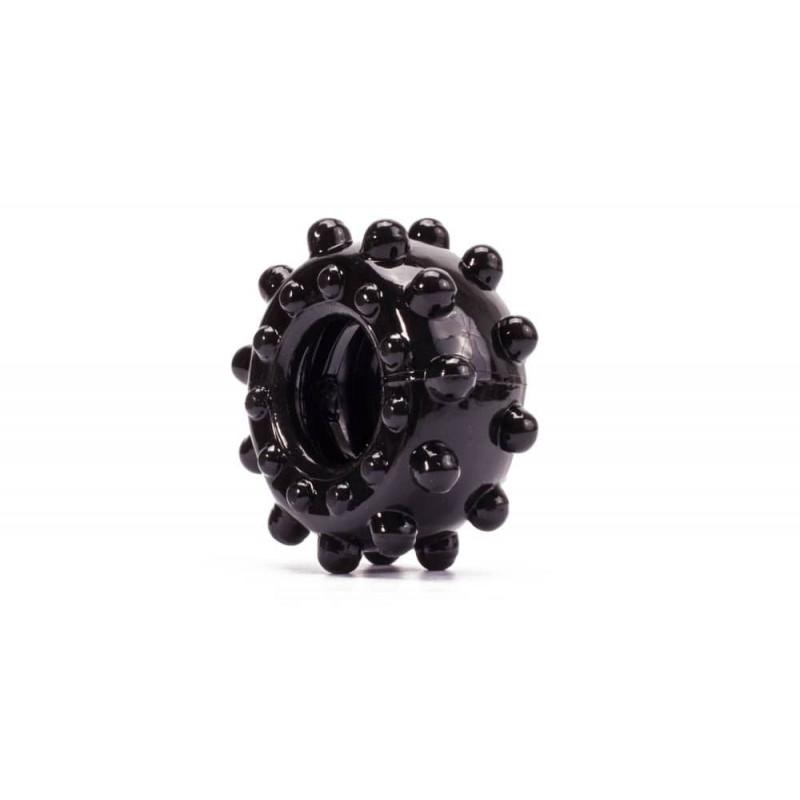 Пенис пръстен за истинска мощ №3 в черен цвят - Power Plus Cockring 3 — 2