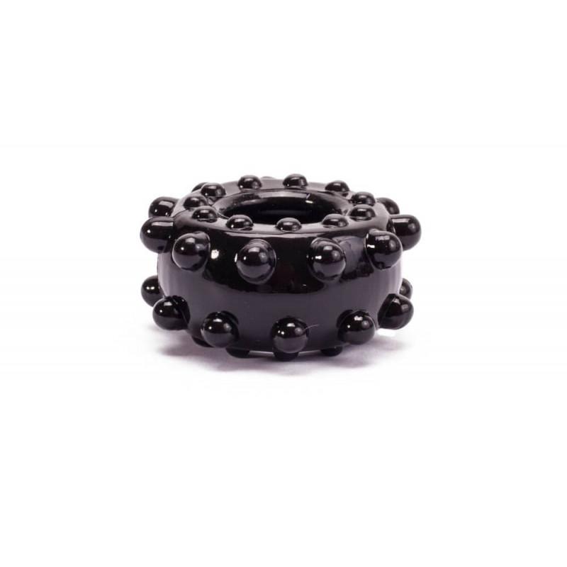 Пенис пръстен за истинска мощ №3 в черен цвят - Power Plus Cockring 3