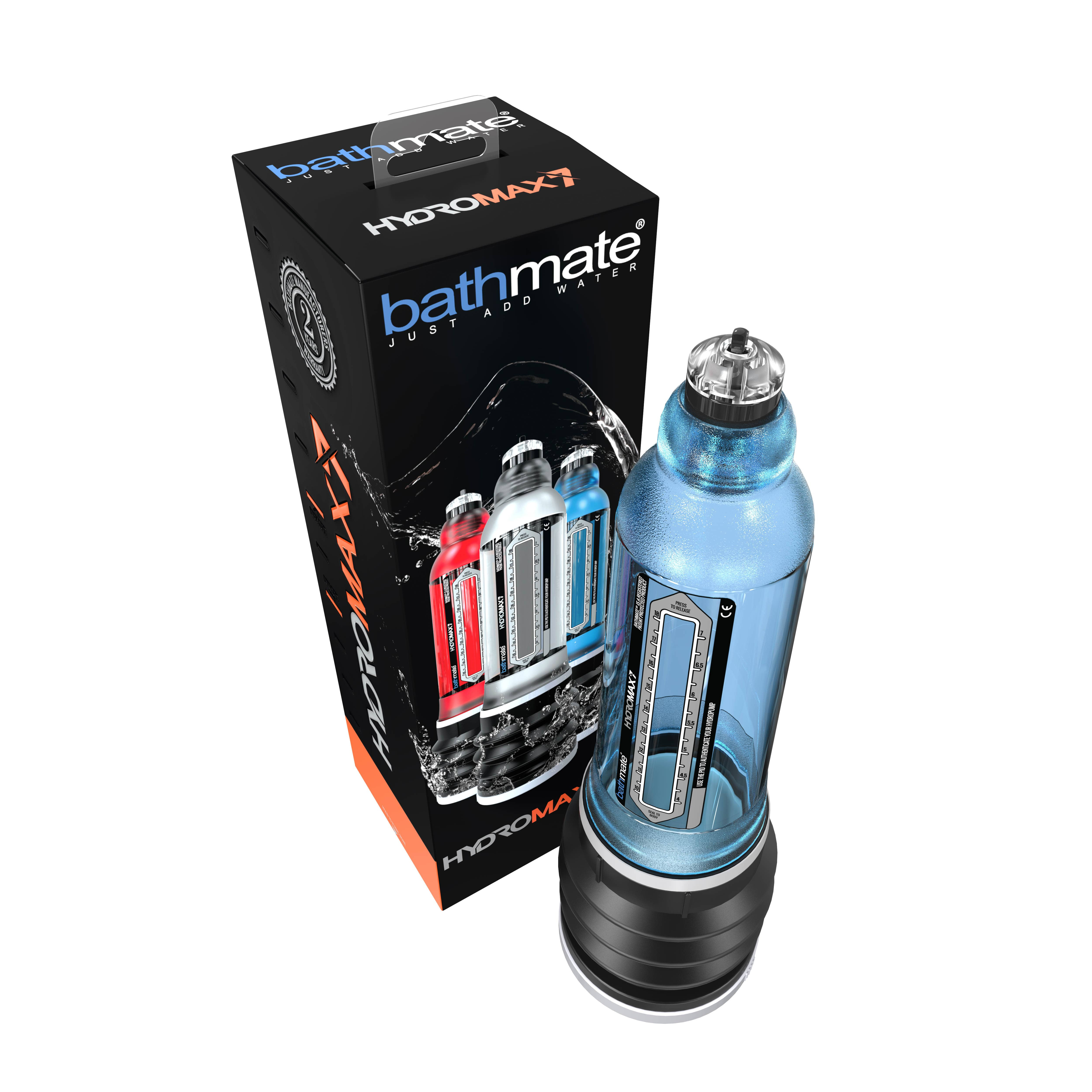 Пенис хидро-помпа за гарантиран резултат - HYDROMAX7 - BLUE — 2