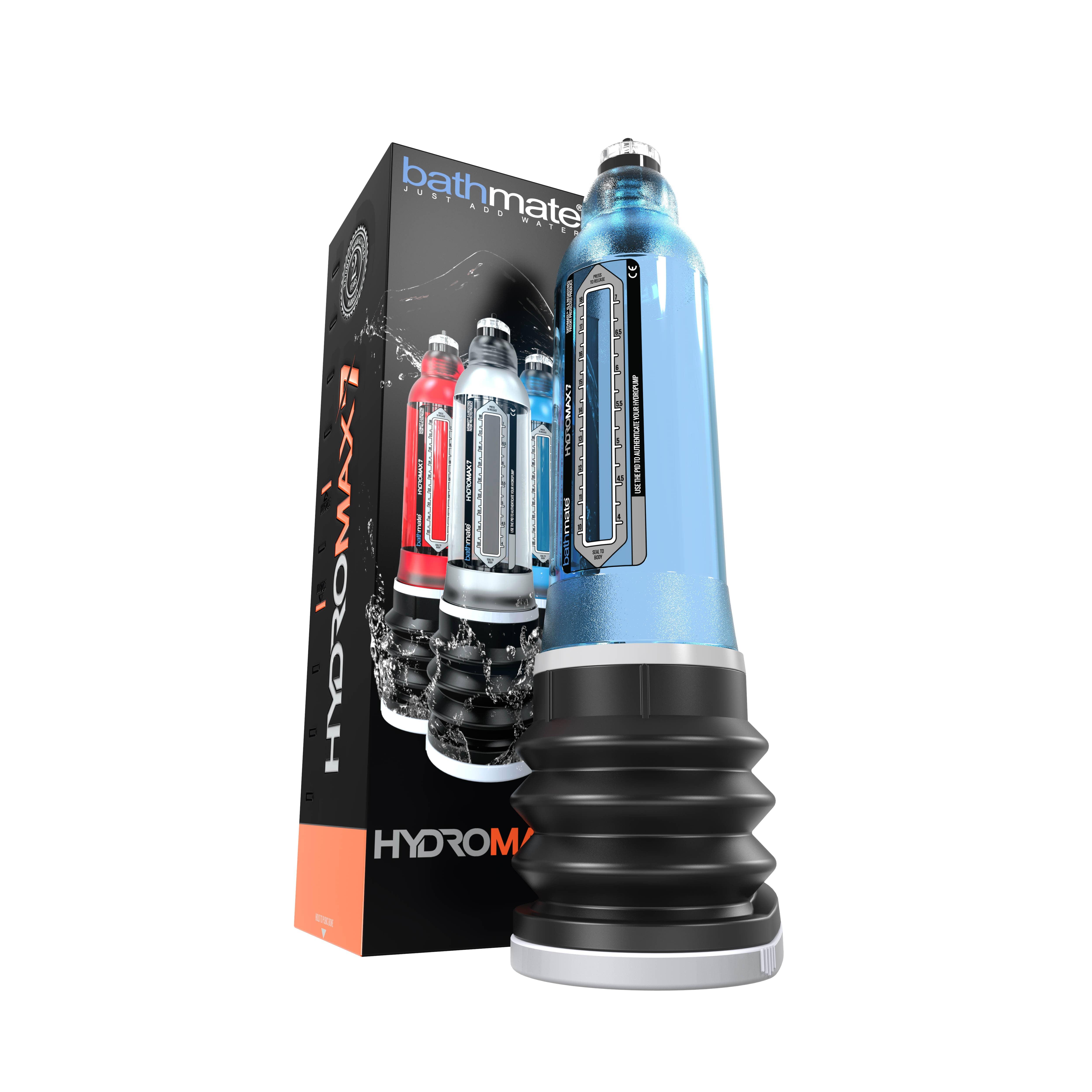 Пенис хидро-помпа за гарантиран резултат - HYDROMAX7 - BLUE — 3