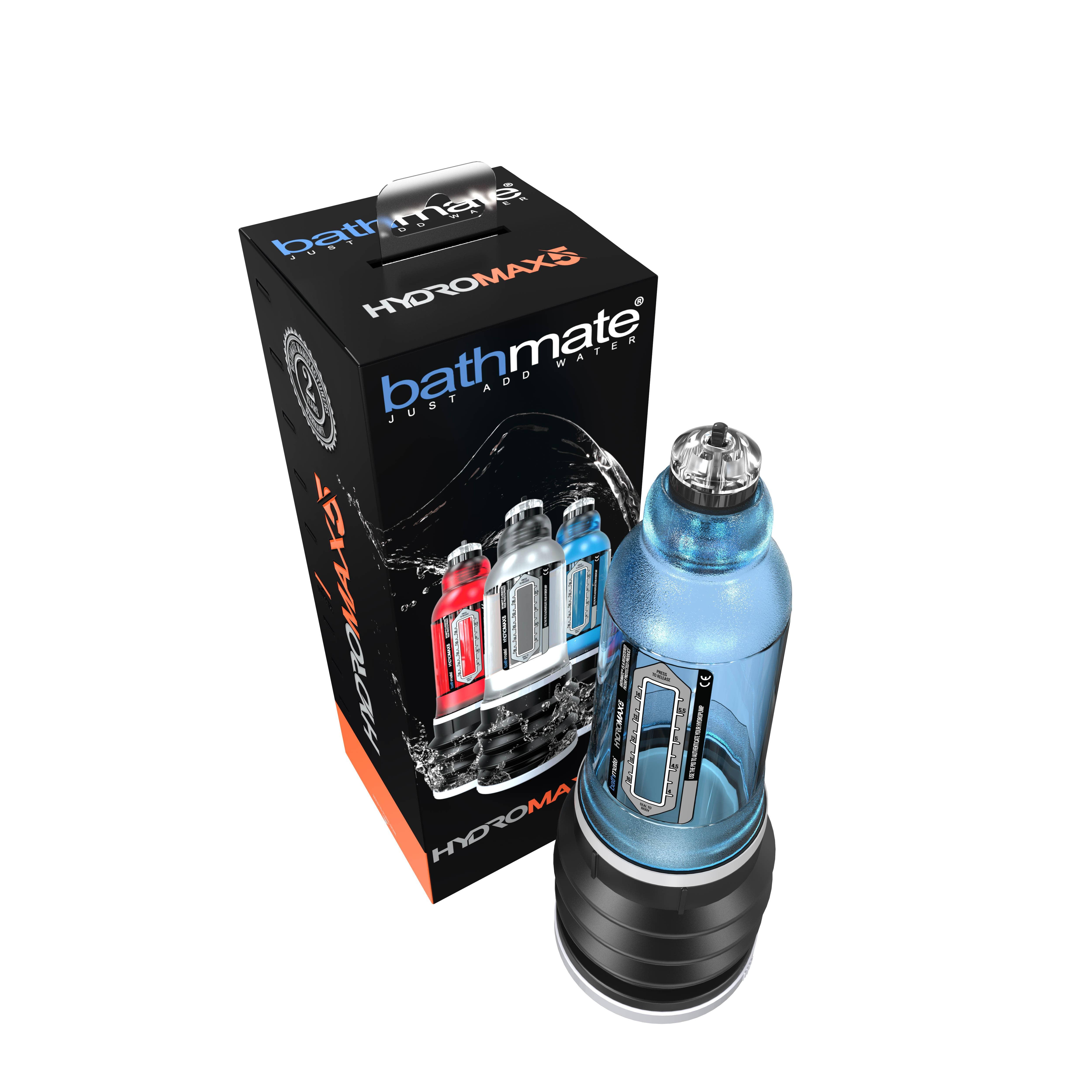 Пенис хидро-помпа за гарантиран резултат - HYDROMAX5 - BLUE — 2