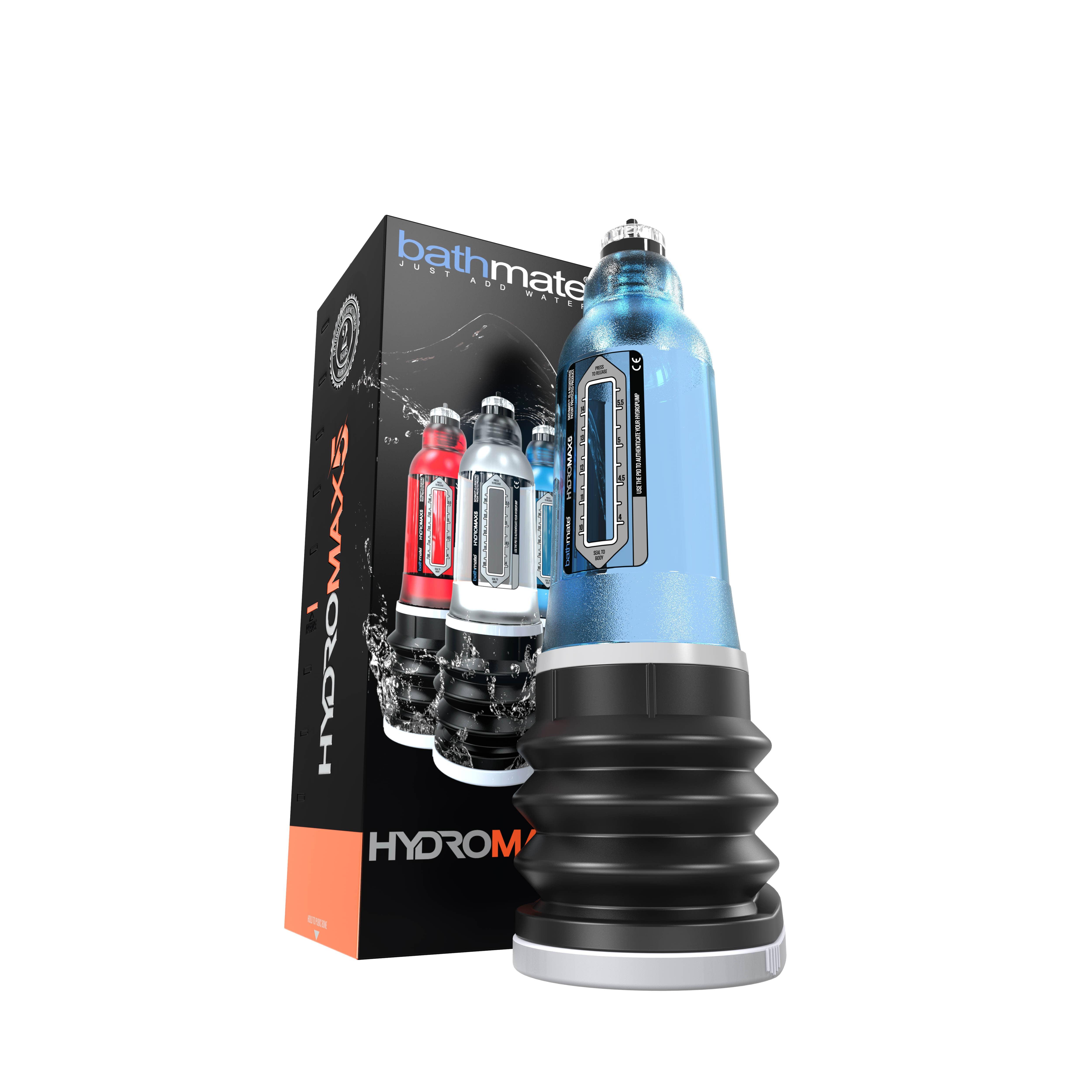 Пенис хидро-помпа за гарантиран резултат - HYDROMAX5 - BLUE