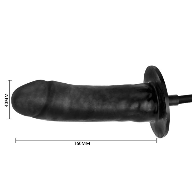 Надуваемо дилдо с вибрации - Bigger Joy Inflatable Penis — 8