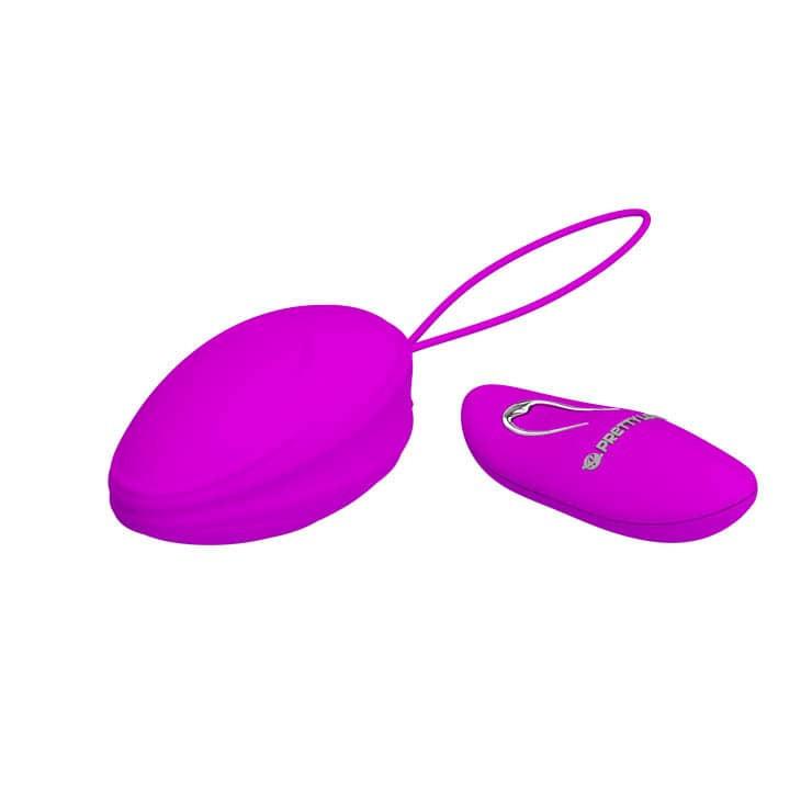 Вибриращо яйце с дистанционно и силикон ръкав - Pretty Love Hyper Egg — 8