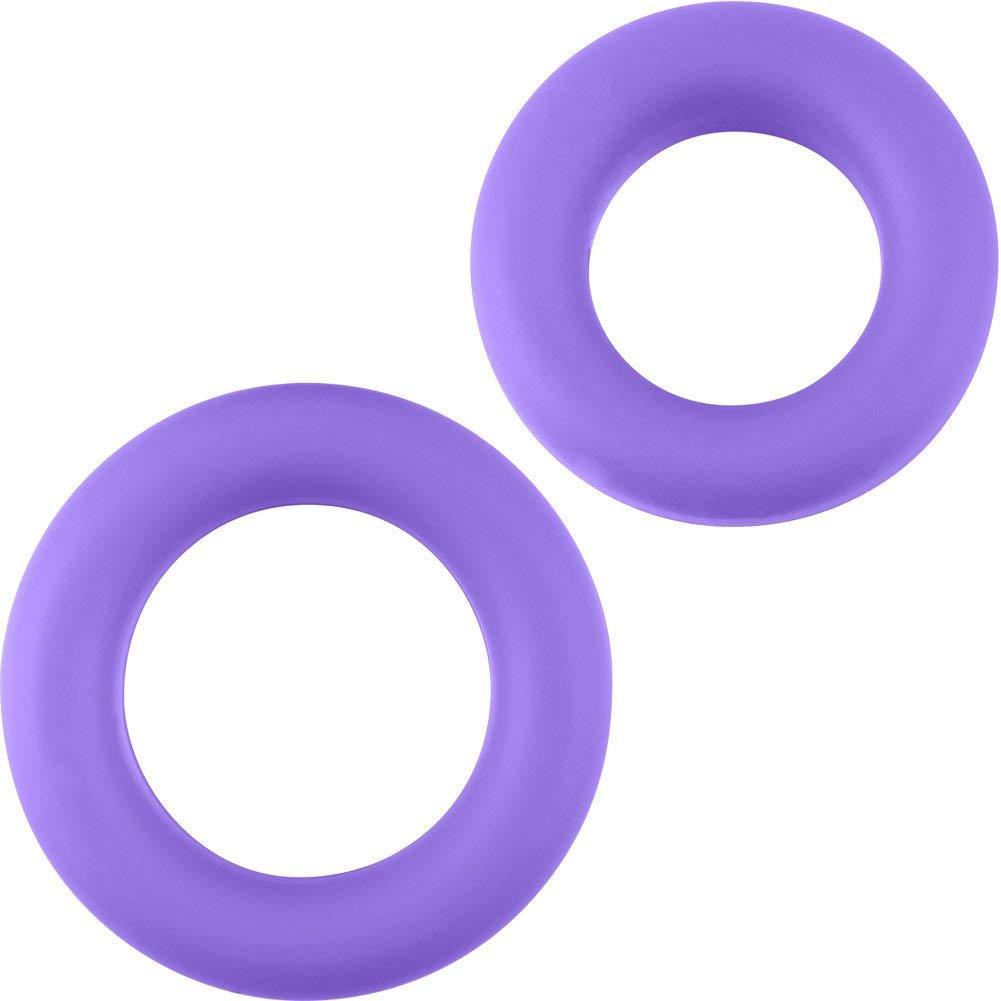 Неонови пенис пръстени в лилав цвят