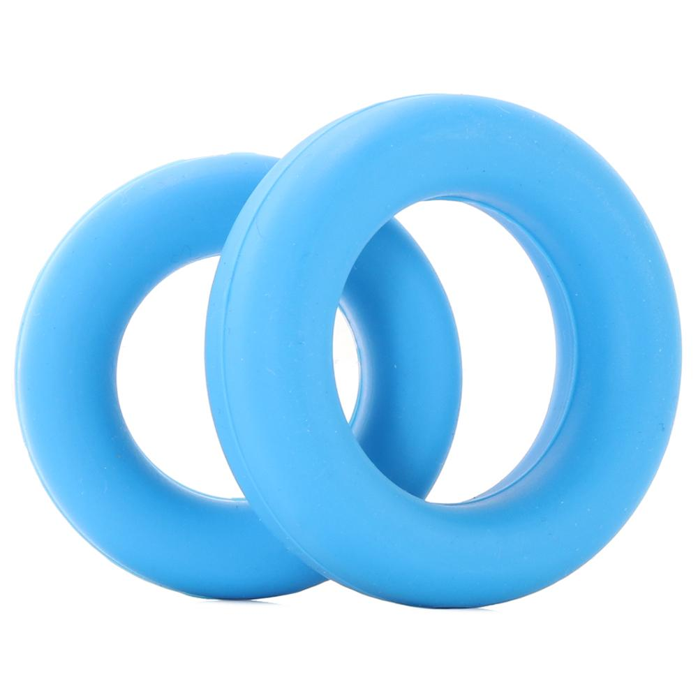 Неонови пенис пръстени в син цвят, много разтегливи – Neon Stretchy Silicone Cock Ring Set
