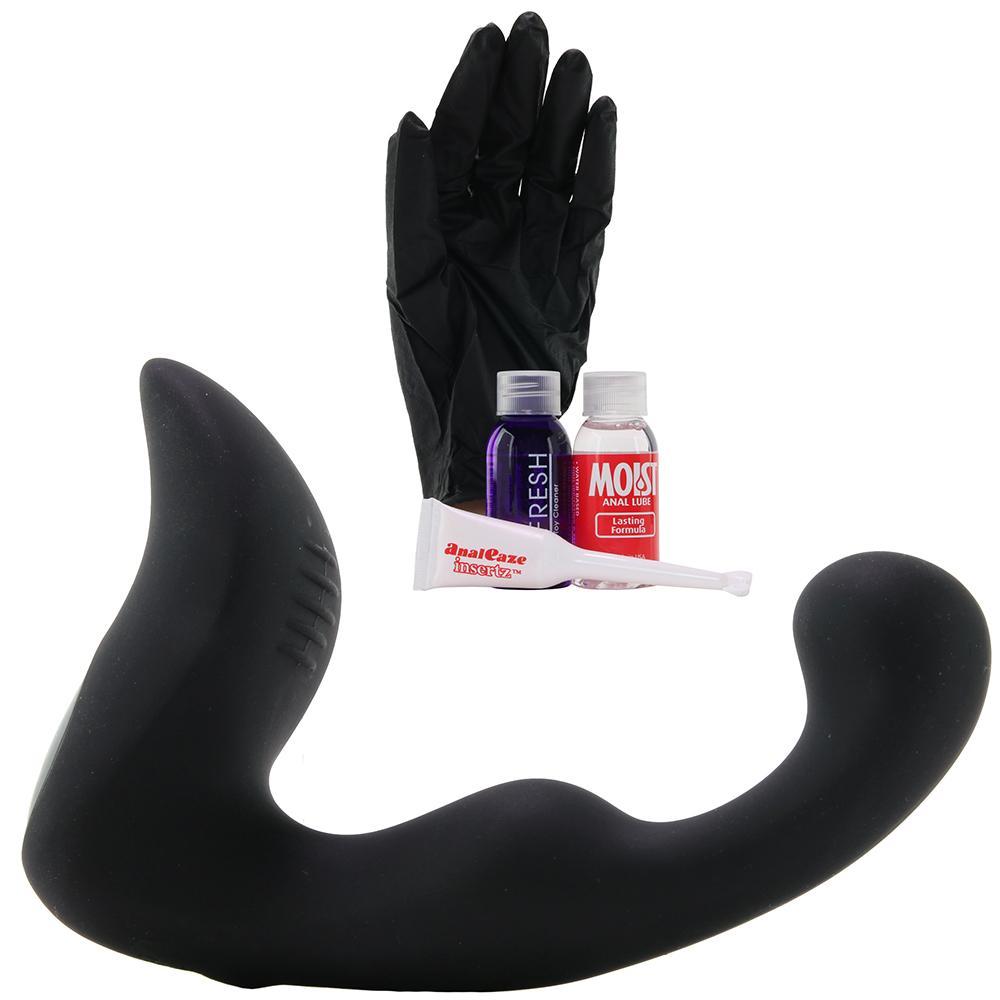 Вибриращ простатен масажор с дистанционно