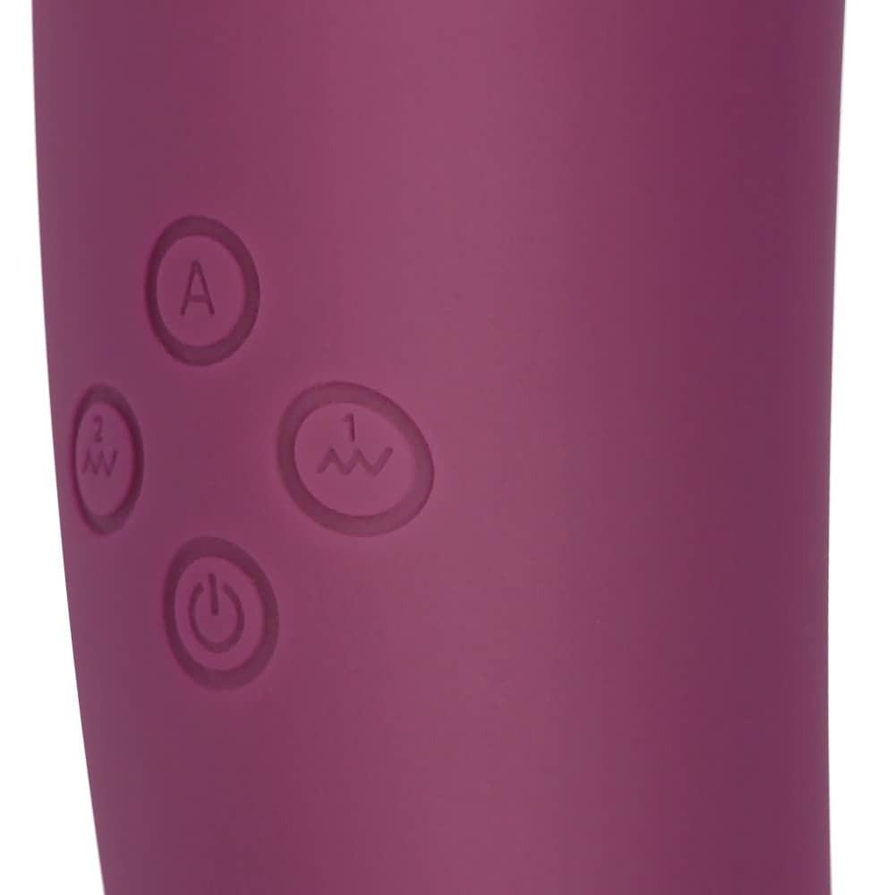 Мултифункционален вибратор с клитор стимулатор - Toyz4Partner — 5
